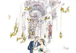 Just married. Estrela. 2019