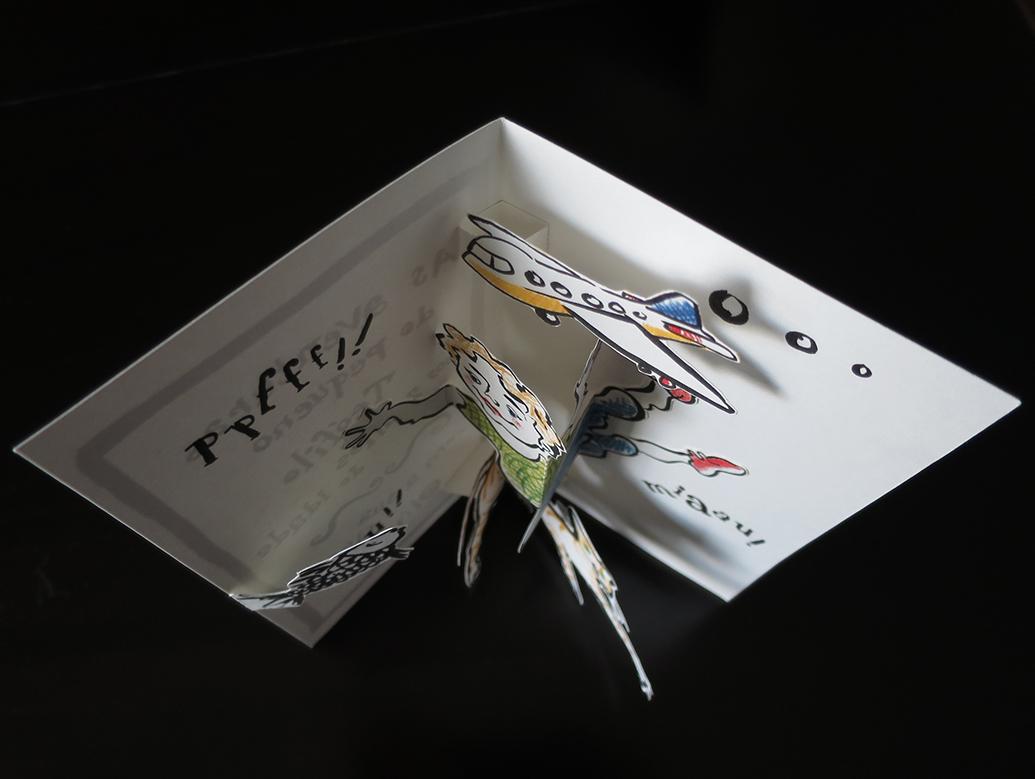 Pop-up card (mecanism)