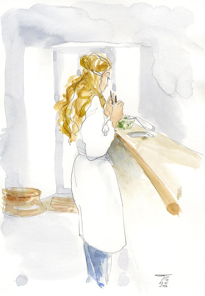 Bride preparation, 2016