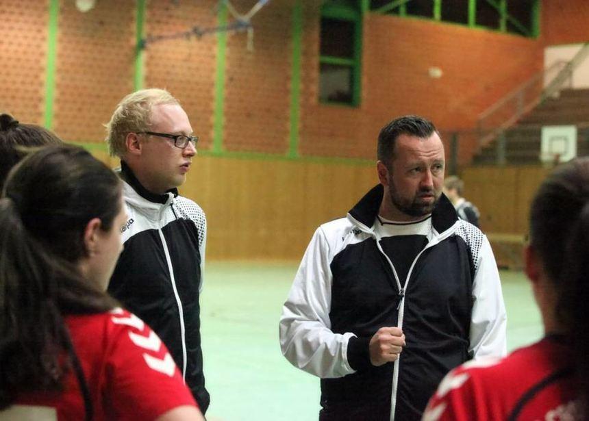 Der 42-jährige Bernd Seiberth (rechts) betreute sieben Jahre lang die ESG Crumstadt/Goddelau.