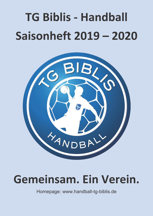 TG Biblis Handball Saisonheft 2019 / 2020