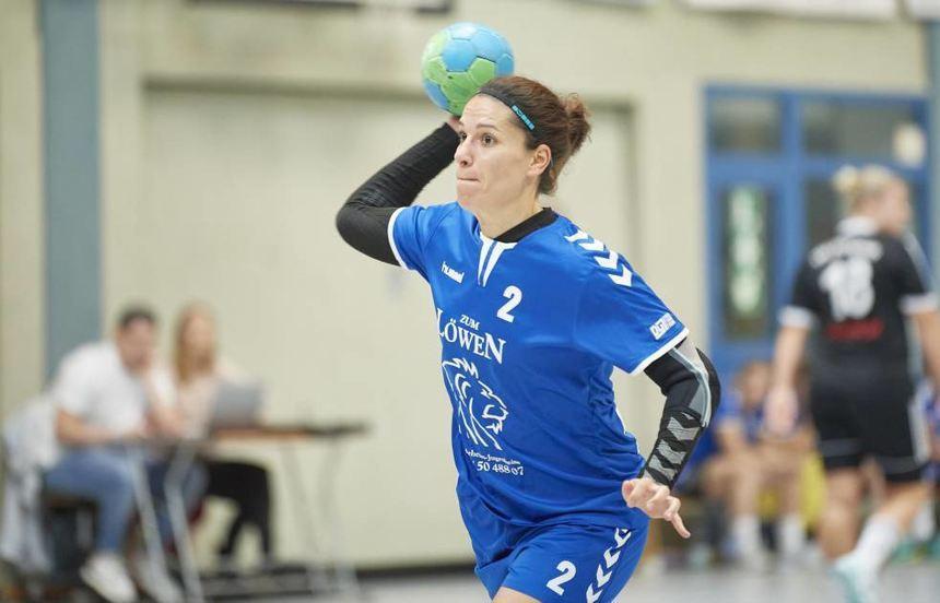 FSG-Spielerin Liboria Romano hatte eine sehr gute Trefferquote und erzielte sieben Treffer.