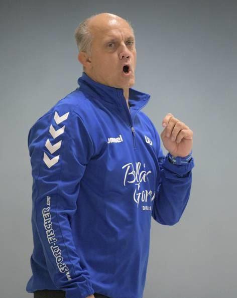 Im letzten Hinrundenspiel konnte TGB-Trainer Uwe Groß endlich jubeln.