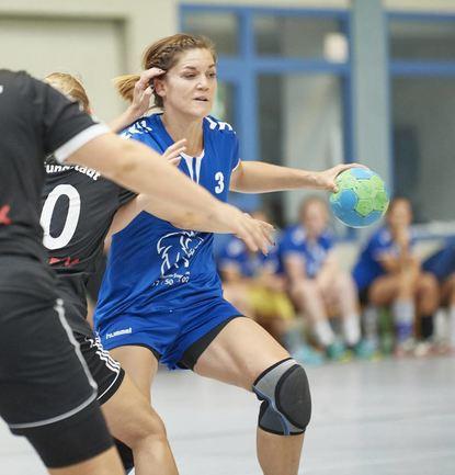 FSG-Aktivposten in Angriff und Abwehr: Saskia Laudenbach überzeugte mit neun Treffern.