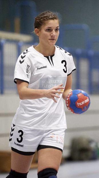 Saskia Laudenbach war mit sieben Toren beste Werferin der FSG.