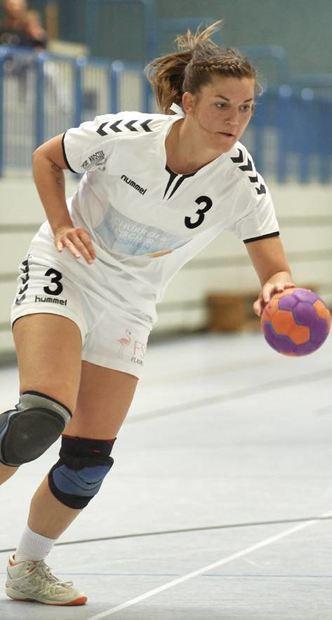 Saskia Laudenbach schlug gegen Langen sechs Mal zu.