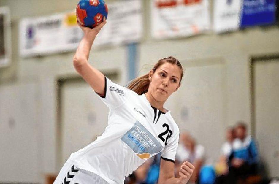 Sandra Schnellbach war mit fünf Treffern beste FSG-Werferin im Odenwald.