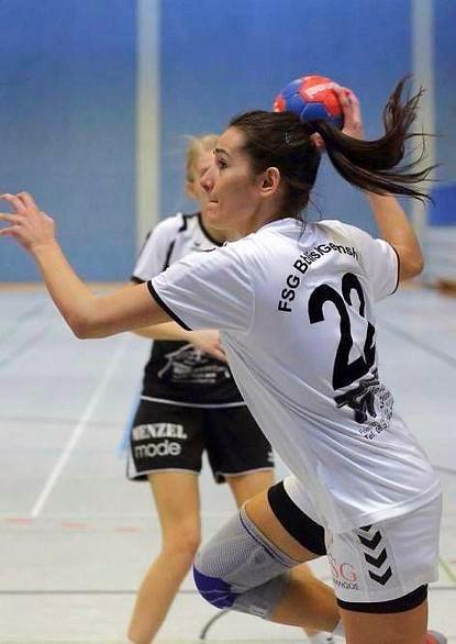 FSG-Spielerin Amina Drekovic gelangen fünf Treffer.