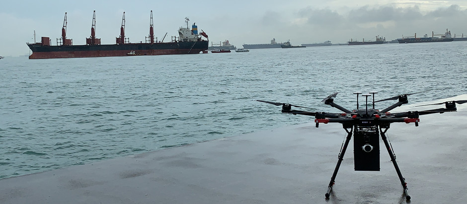 F-drones commences first maritime drone deliveries  and signs a deal with Eastern Pacific Shipping