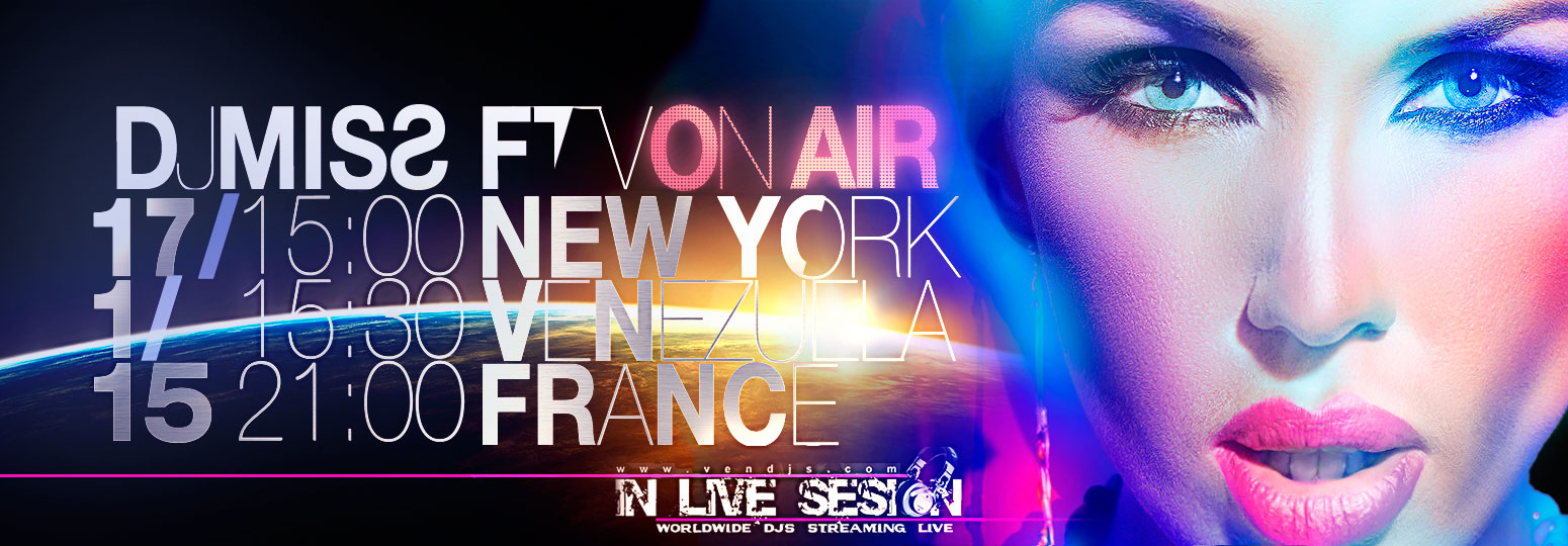 "ON AIR ""IN LIVE SESION"" NEW YORK"