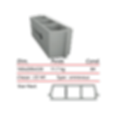 Socamac béton et materiaux entrevous de 16x20x53