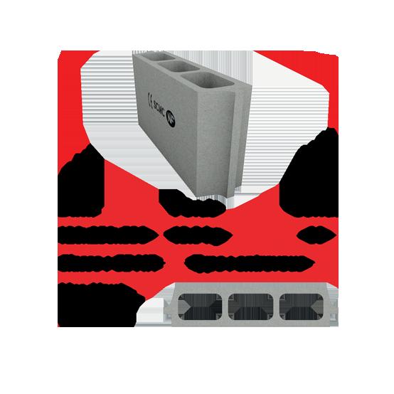 Socamac béton et materiaux entrevous 12x25x53