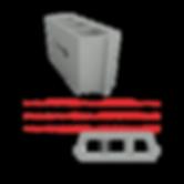 Socamac béton et materiaux entrevous de 16x25x53