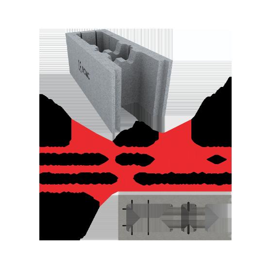 500x200x200 Banché Angle