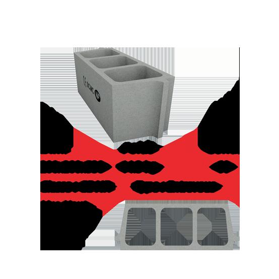 Socamac béton et materiaux entrevous 20x20x53