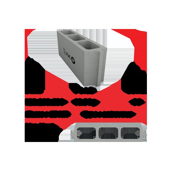 Socamac béton et materiaux entrevous 12x20x53