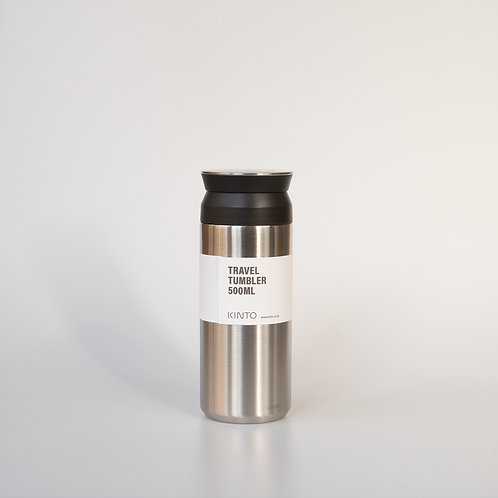 Kinto Travel Tumbler 500ml steel