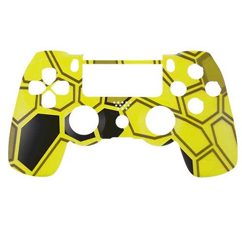 PS4 Hex Camo Yellow