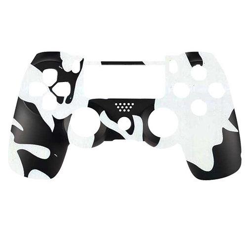 PS4 Black and White Camo