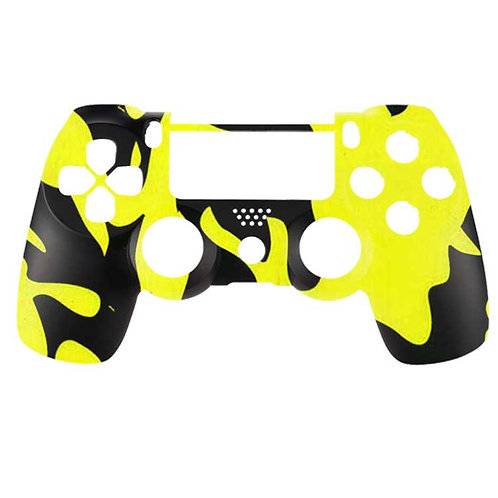 PS4 Black and Yellow Camo