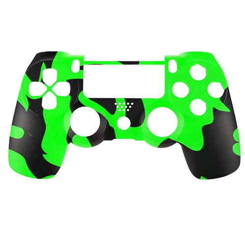 PS4 Black and Green Camo