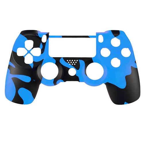 PS4 Black and Blue Camo