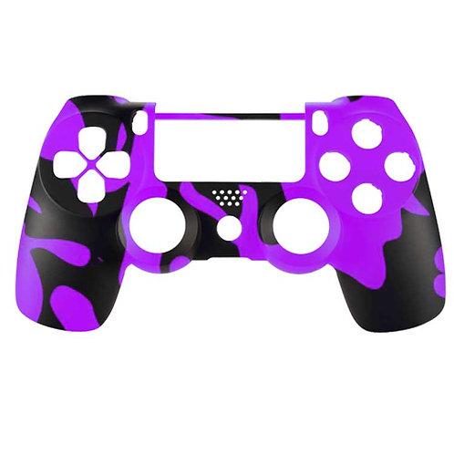 PS4 Black and Purple Camo
