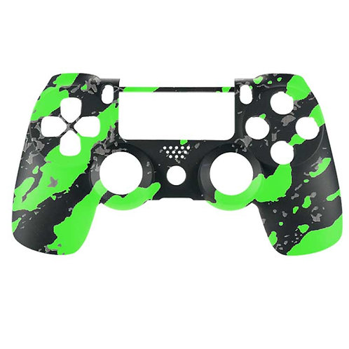 PS4 Hex Camo Green