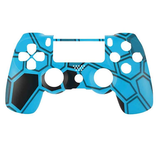 PS4 Hex Camo Blue