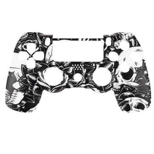 PS4 Skulls & Roses - White