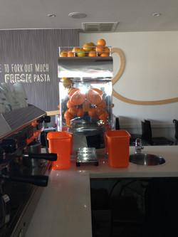 Juice Machine Supplied