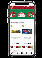 E-commerce para supermercado - site responsivo celular