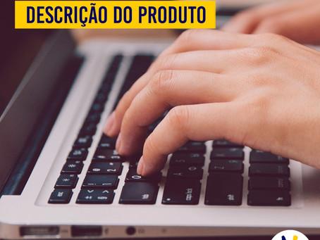 E-COMMERCE: Atenção na descrição do produto