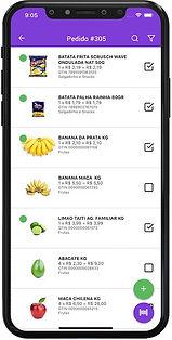 app de separação de entrega