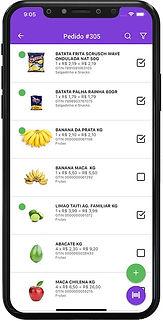 aplicativo de separação e entrega para supermercado