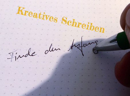 Schreiben einfach so