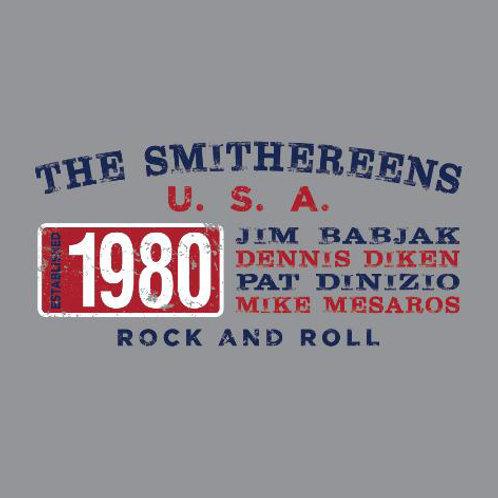 """""""Established 1980"""" Retro Gray T-Shirt"""