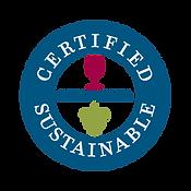 Certified Sustainable CSWA logo