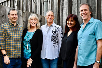 2019 Tall Order, L-R: Adam, Robin, Brent, Vidya, Bill Linda, Brent