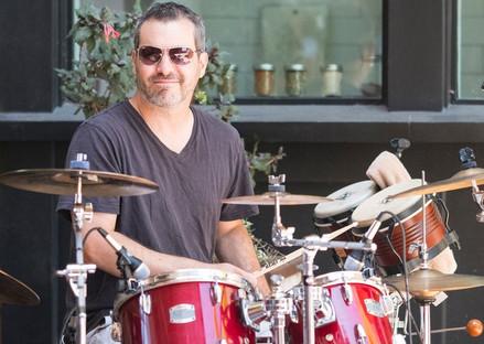 Adam on Drums