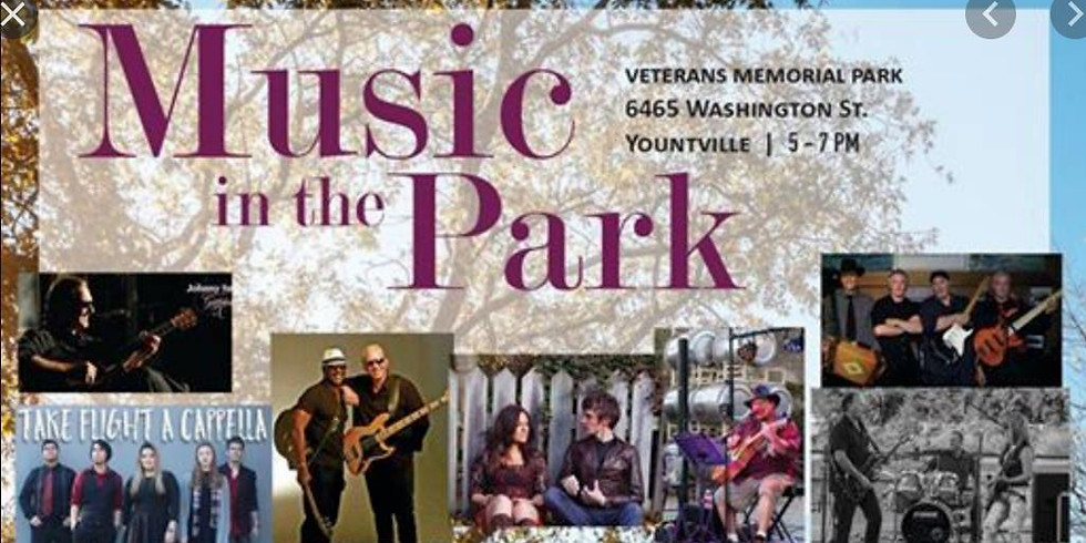 Yountville's Music In the Park