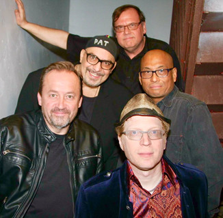 The Smithereens with keyboardist Andy Burton
