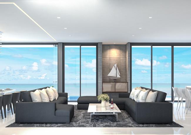 3,4,5 bed - 2 storey-Living-Room-villas