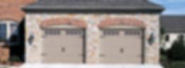Steel Garage Door, Carriage House, Short Panel w/Optional Stockton Window Inserts