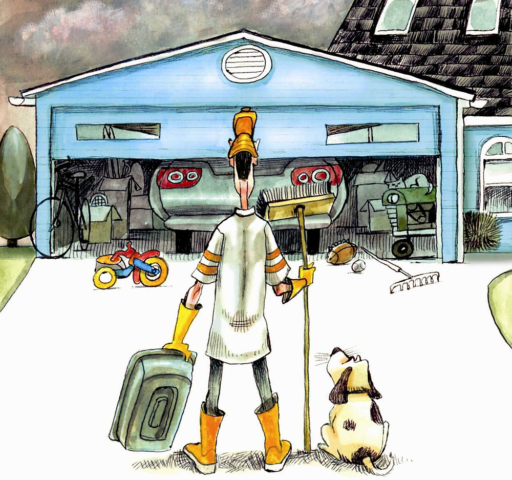 Your Garage and Spring Cleaning