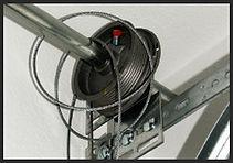 Broken or Frayed Garage Door Cable, Garage Door Repair, Garage Door Service, Garage Door