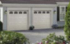 Traditional, Short Panel Garage Door, with Cascade Windows