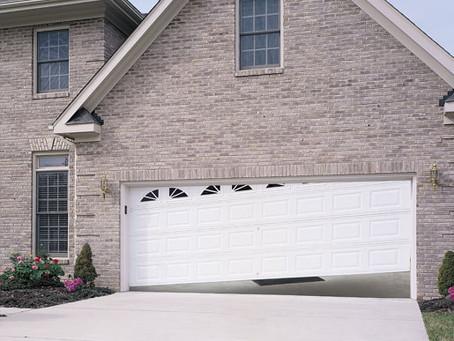 Why did my garage door come off it's tracks?