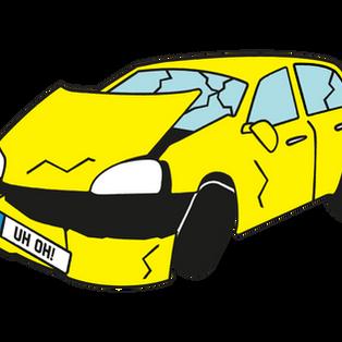 voiture accidenté