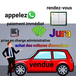 achat de voiture occasion Jura